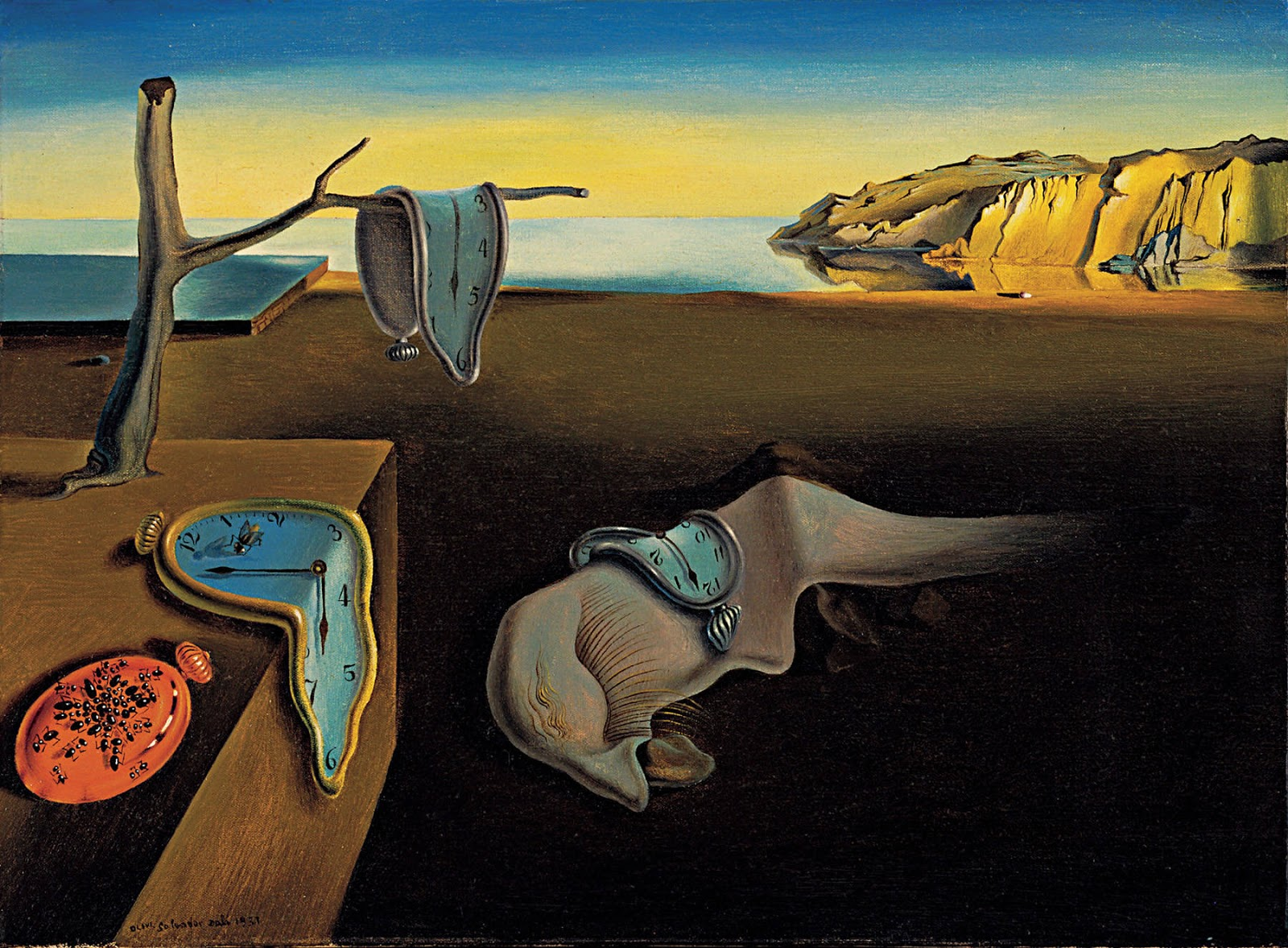 009 Belleğin Azmi The Persistence of Memory - Dalí