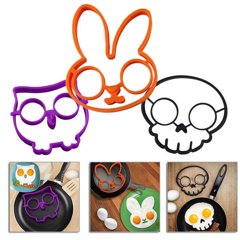 Hot-Breakfast-Silicone-Rabbit-Owl-font-b-Skull-b-font-Fried-Egg-Mold-Shaper-Cooking-Tools
