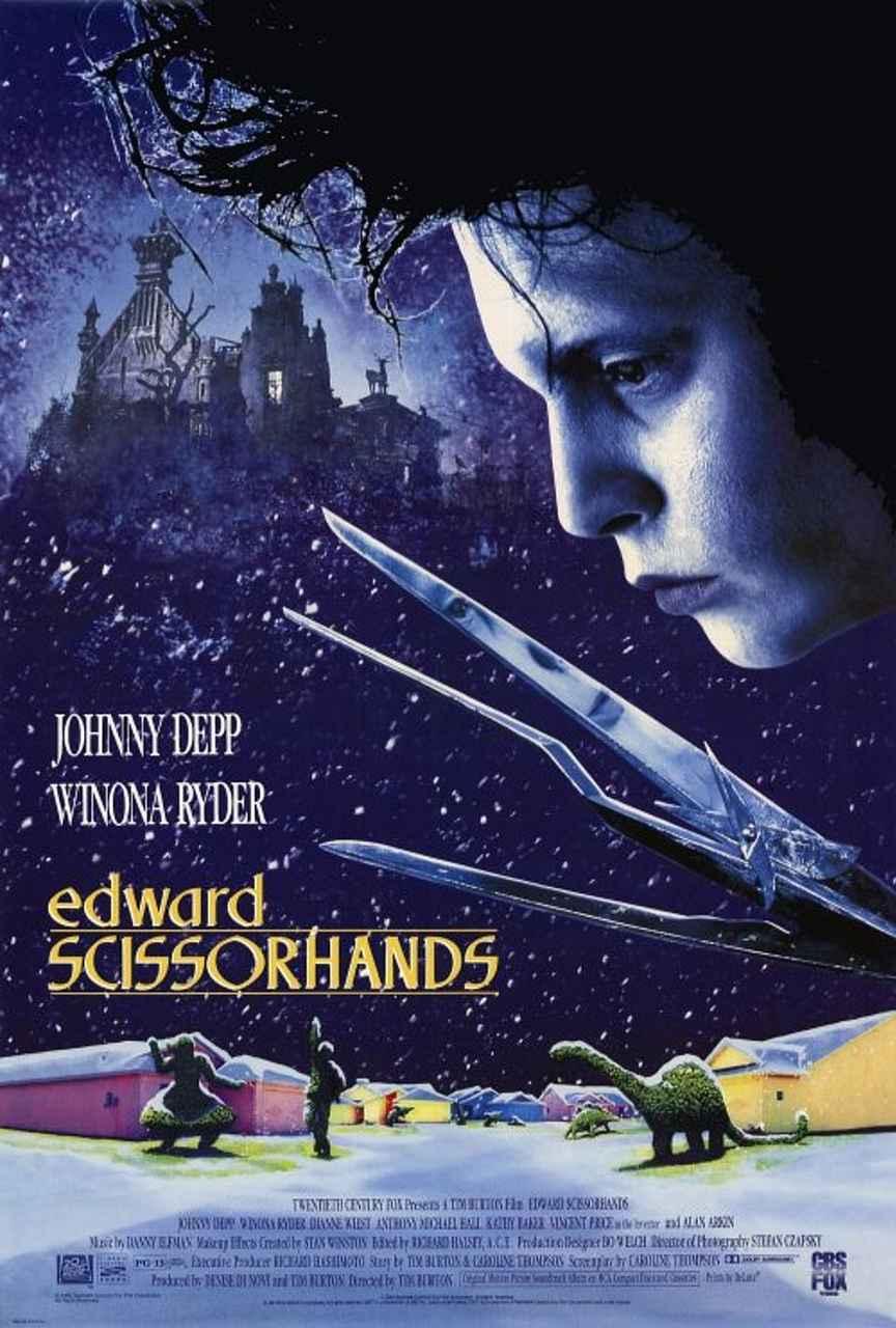 Edward Scissorhands film afişi
