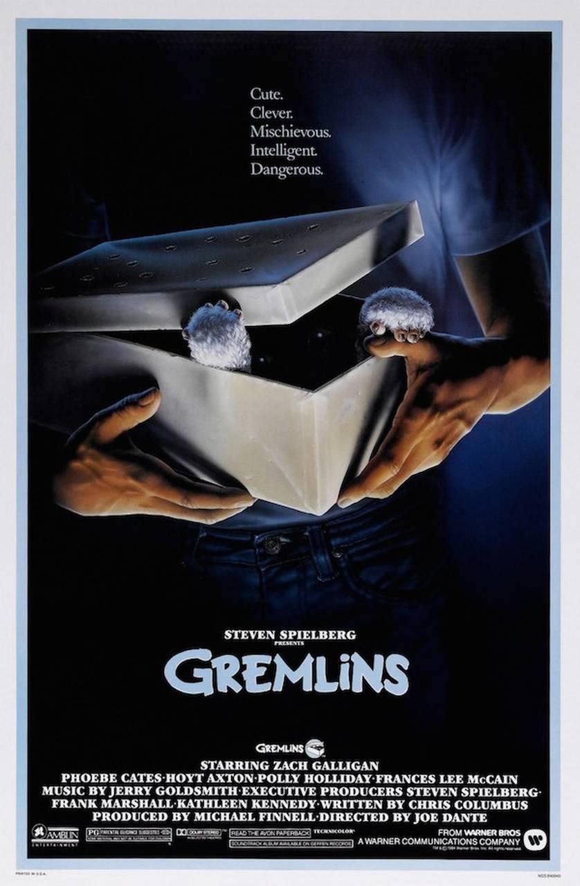 gremlins film afişi
