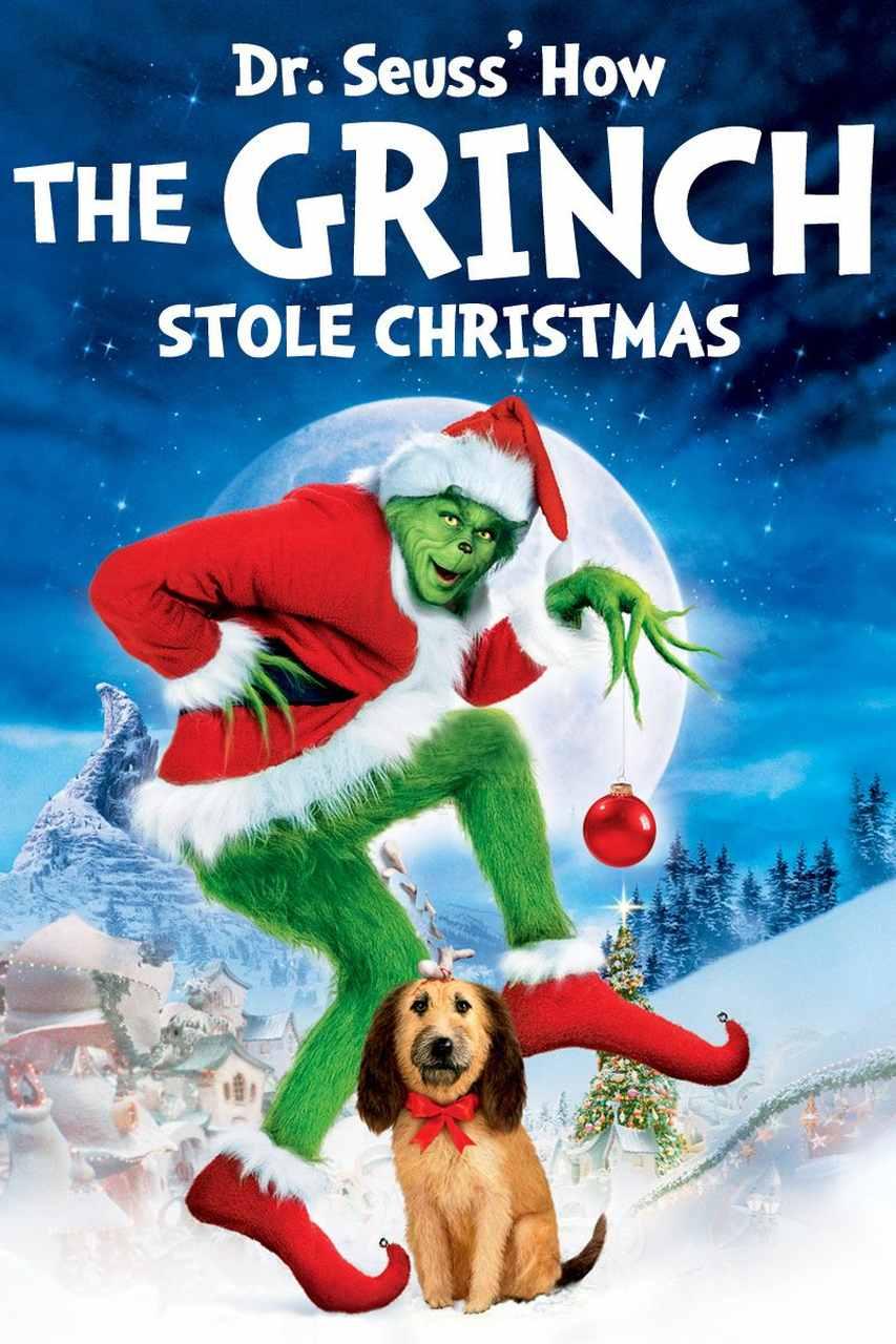 how the grinch stole christmas film afişi