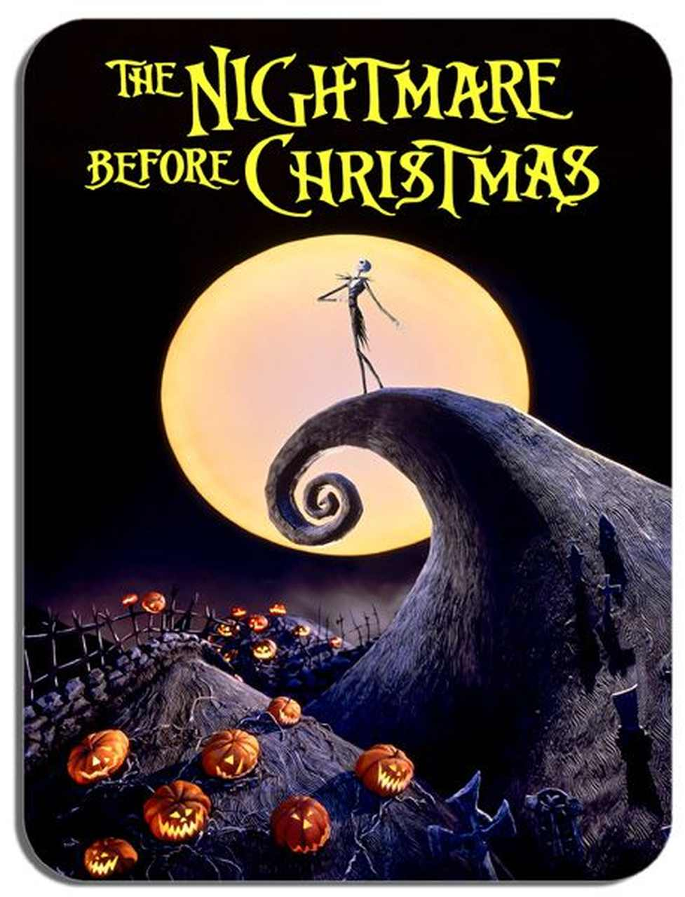 nightmare before christmas film afişi
