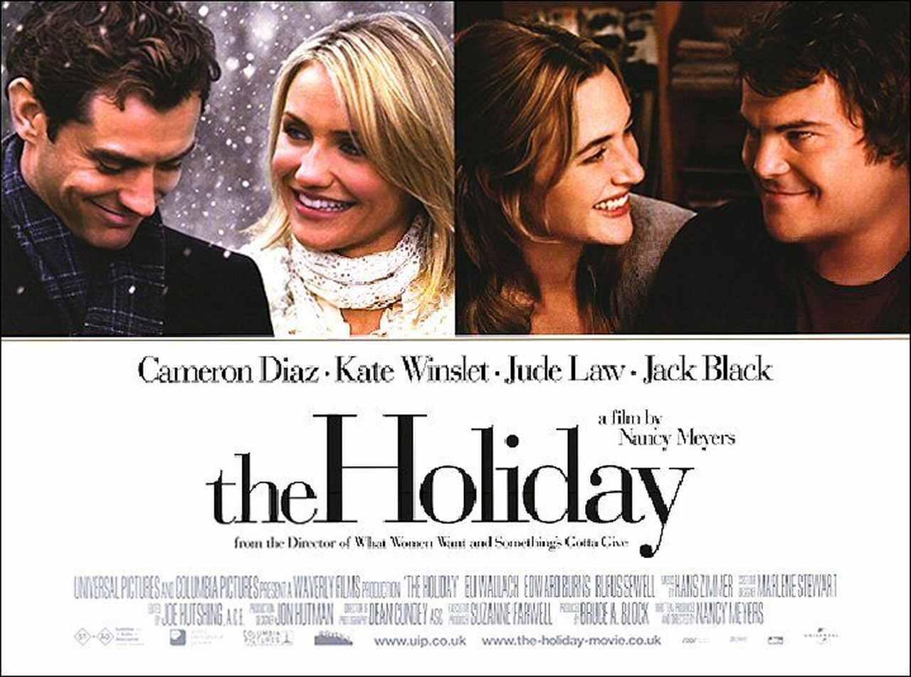 the holiday film afişi