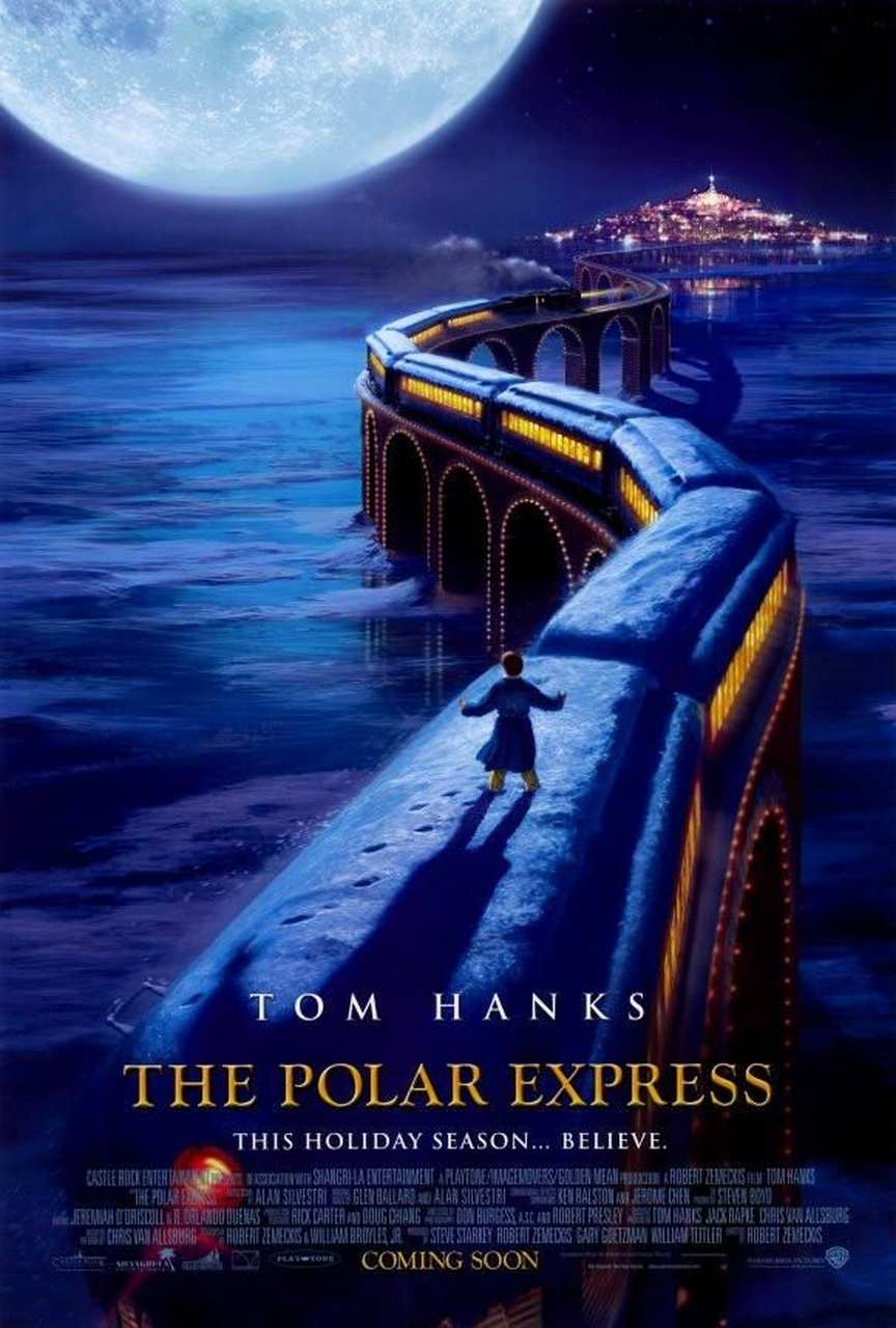 the polar express film afişi