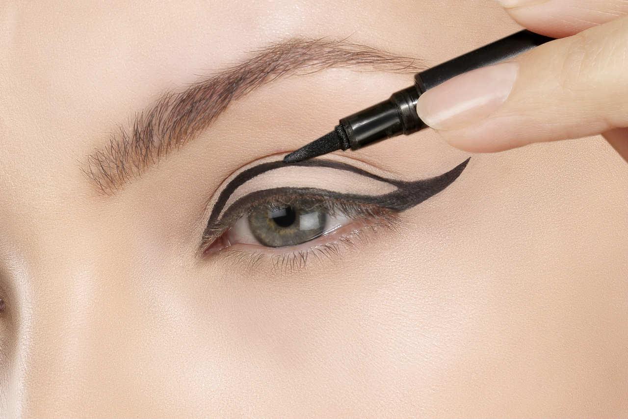 eyeliner şablonu